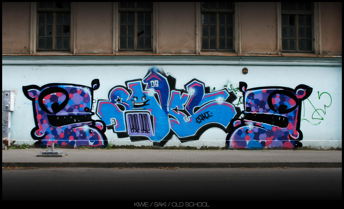OLD SCHOOL by KIWIE-FAT-MONSTER