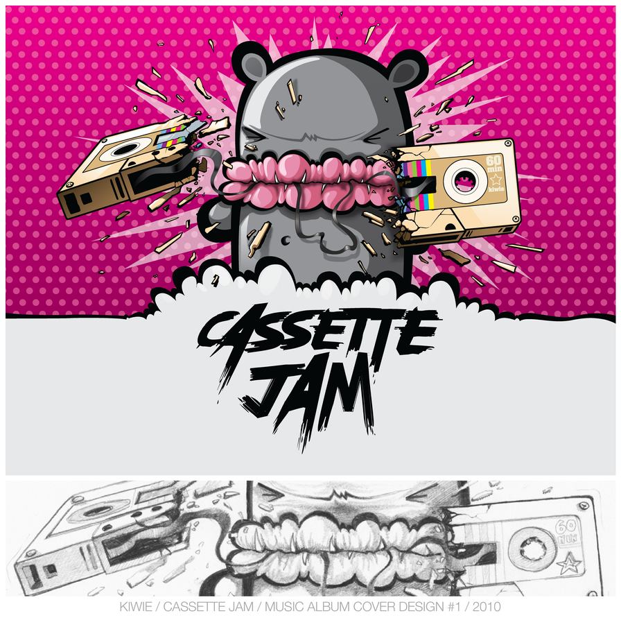 CASSETTE JAM by KIWIE-FAT-MONSTER