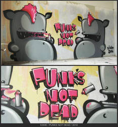 Punks Not Dead by K-I-W-I-E