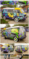 Mystery Machine by KIWIE-FAT-MONSTER