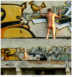 The Naked Guy by KIWIE-FAT-MONSTER