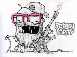 Retard Party by KIWIE-FAT-MONSTER