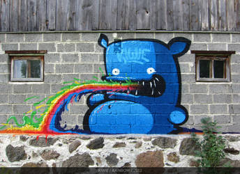 RAINBOW by KIWIE-FAT-MONSTER