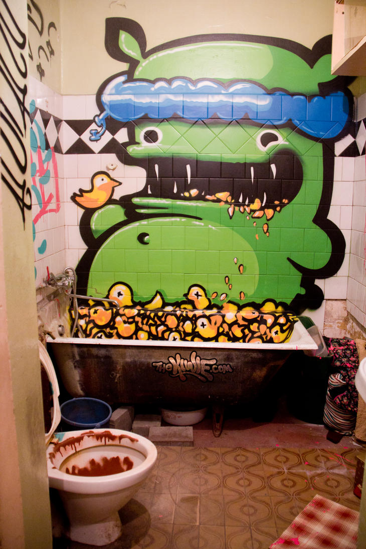 BATHROOM 2012 by The-Kiwie