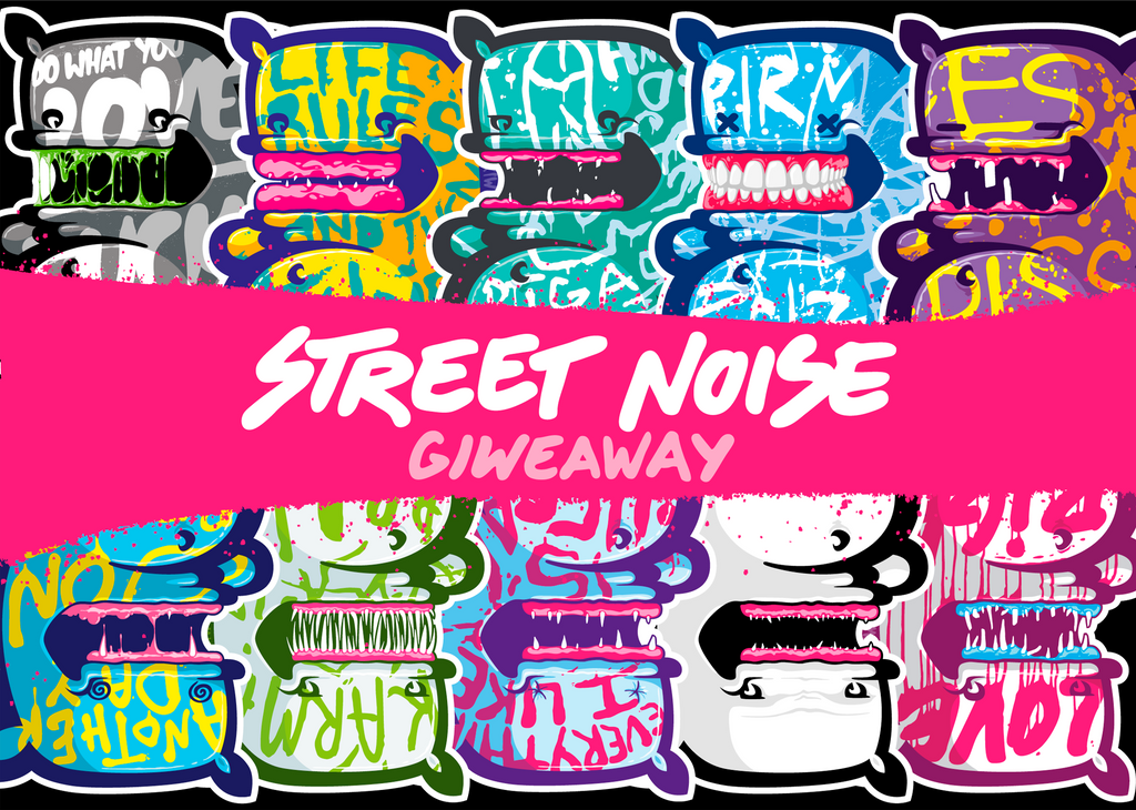 STREET NOISE GIVEAWAY by The-Kiwie