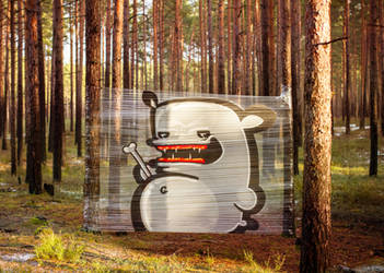 FOREST MONSTERS by KIWIE-FAT-MONSTER