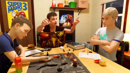 Dungeons and Dragons by Glkthread