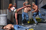 Street Alley Fight