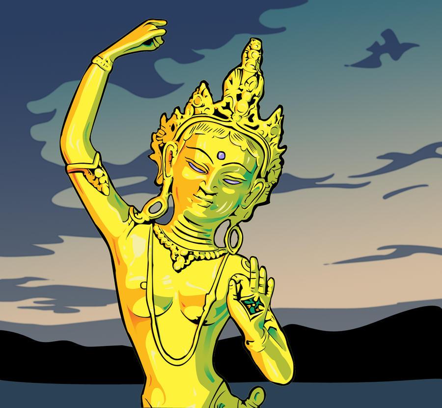 Buddha by nochemon