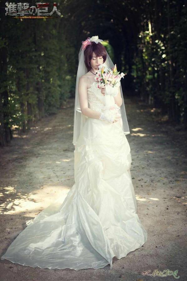 Bride! Sasha -  Shingeki no kyojin  by KinokoArthLiddell