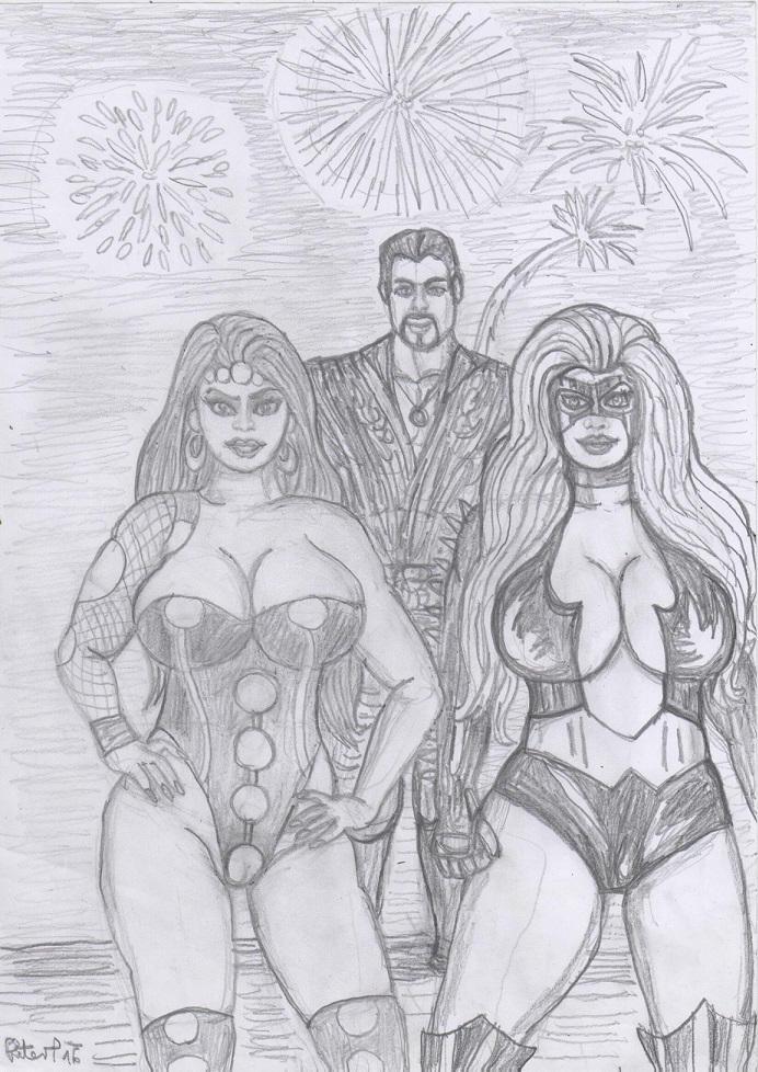 Lascivious  Titania And Ares