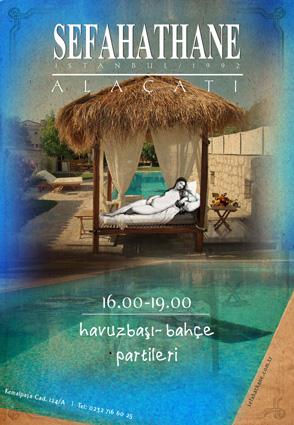 sefahathane alacati poster by ataysoy