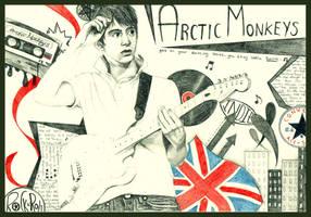 arctic monkeys. by mylifeonpaper
