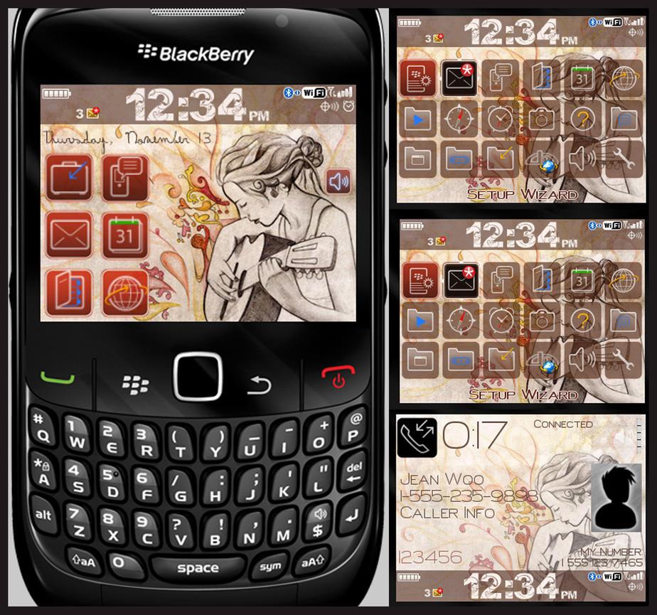 'evolve' blackberry theme by mylifeonpaper on DeviantArt