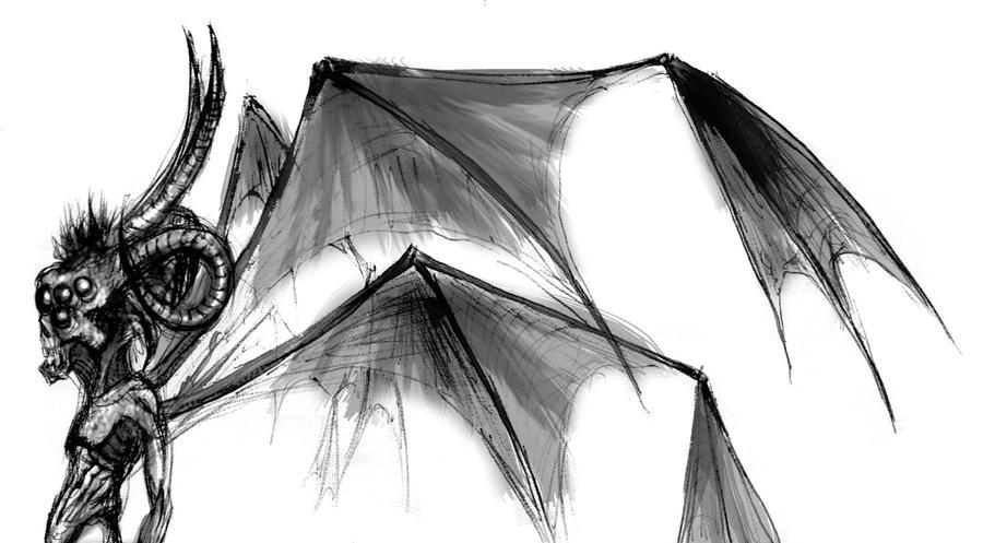 Imagenes de demonios con alas - Imagui