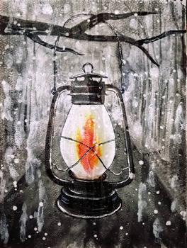 old lamp _ moonix drawings _arts