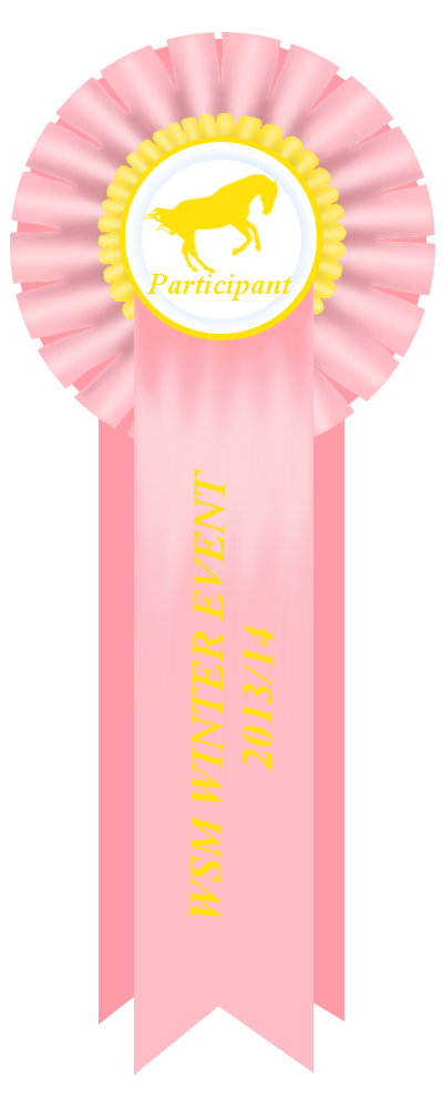 WSM Winter Event Halter Participantion Ribbon by NorthernMyth