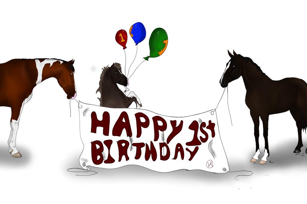 Happy 1st Birthday !! by NorthernMyth