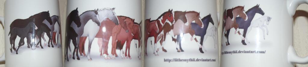 WSM Horses Mug by NorthernMyth