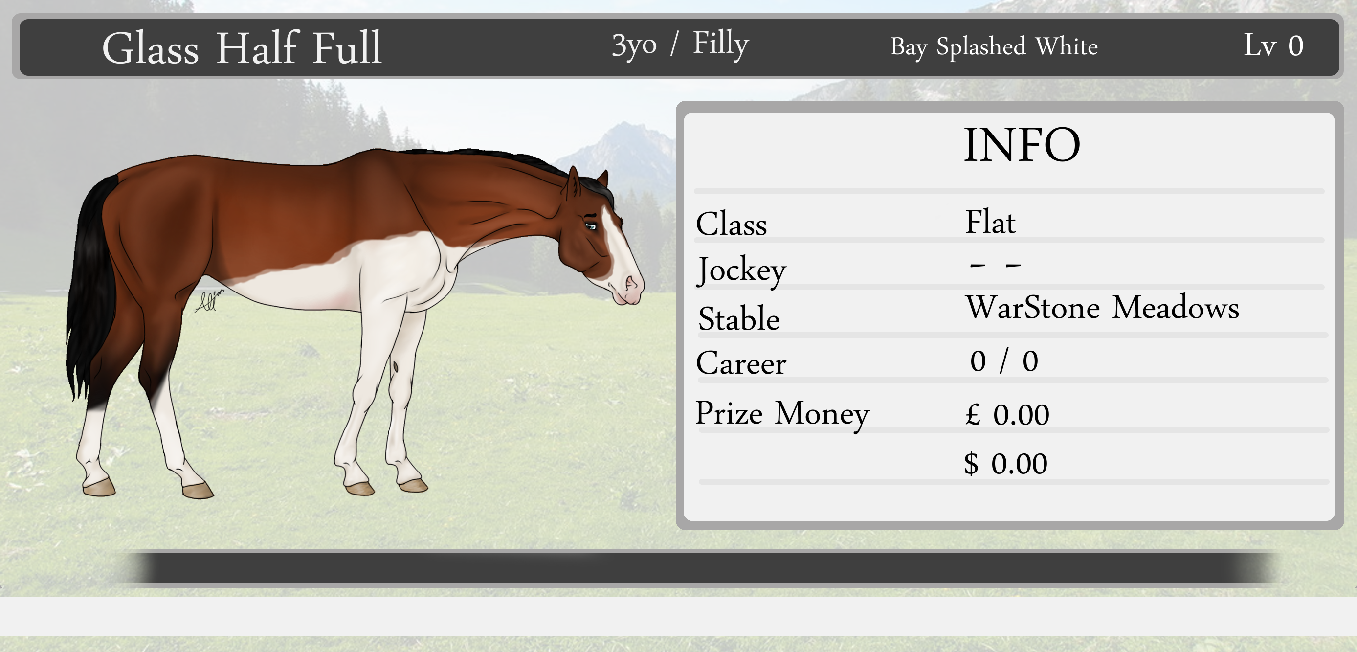 Glass Half Full [ Racing ] by NorthernMyth
