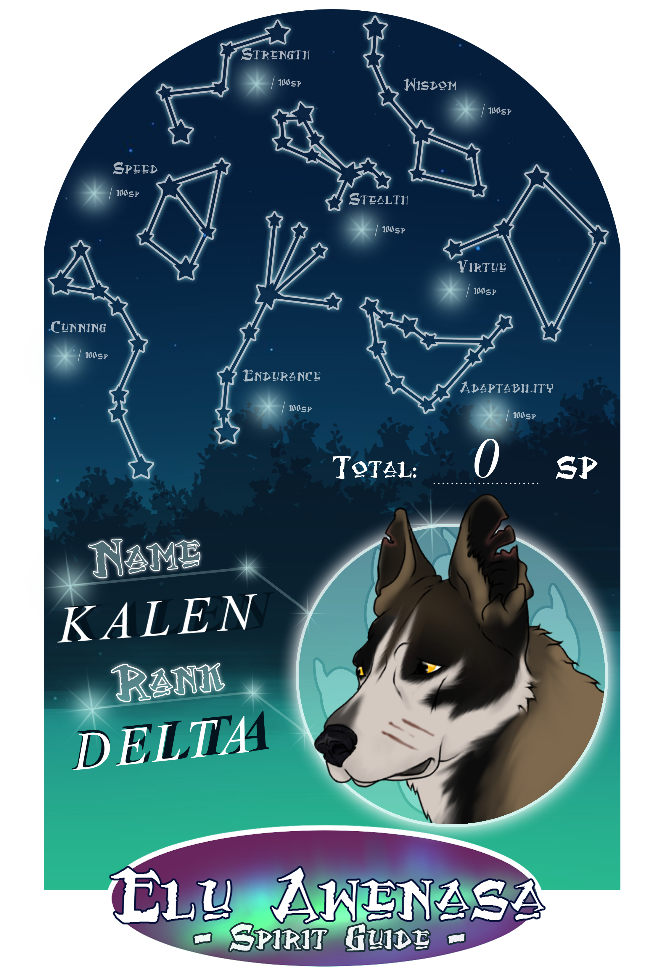 EA |Kalen's Spirit Guide by NorthernMyth