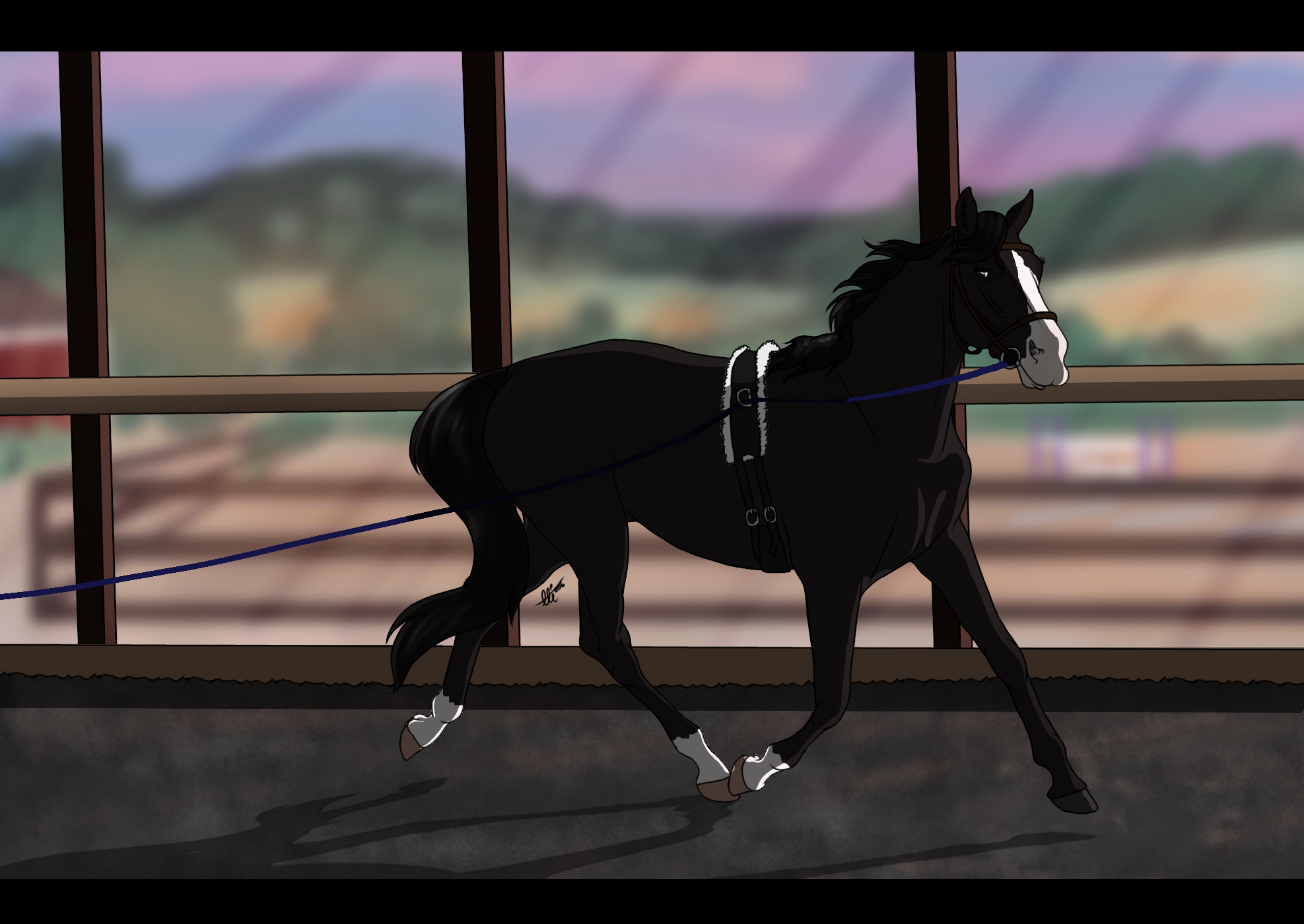 EquiBREAK Training - Rebel - Lunging by NorthernMyth