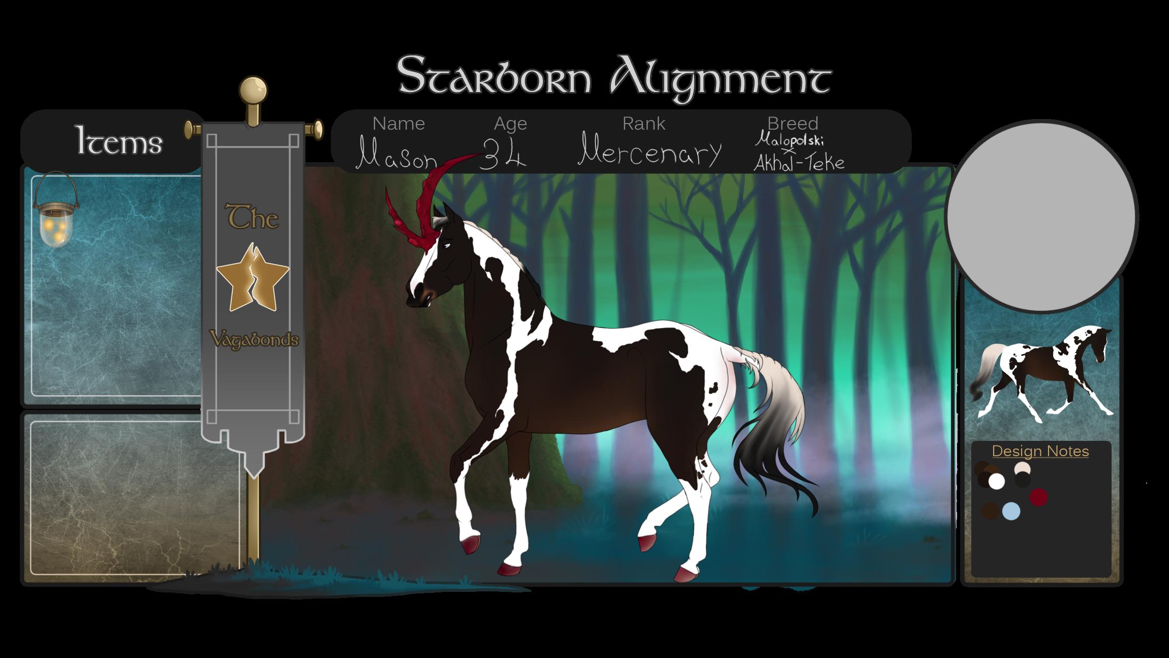 SA  Mason   Vagabond - Mercenary by NorthernMyth