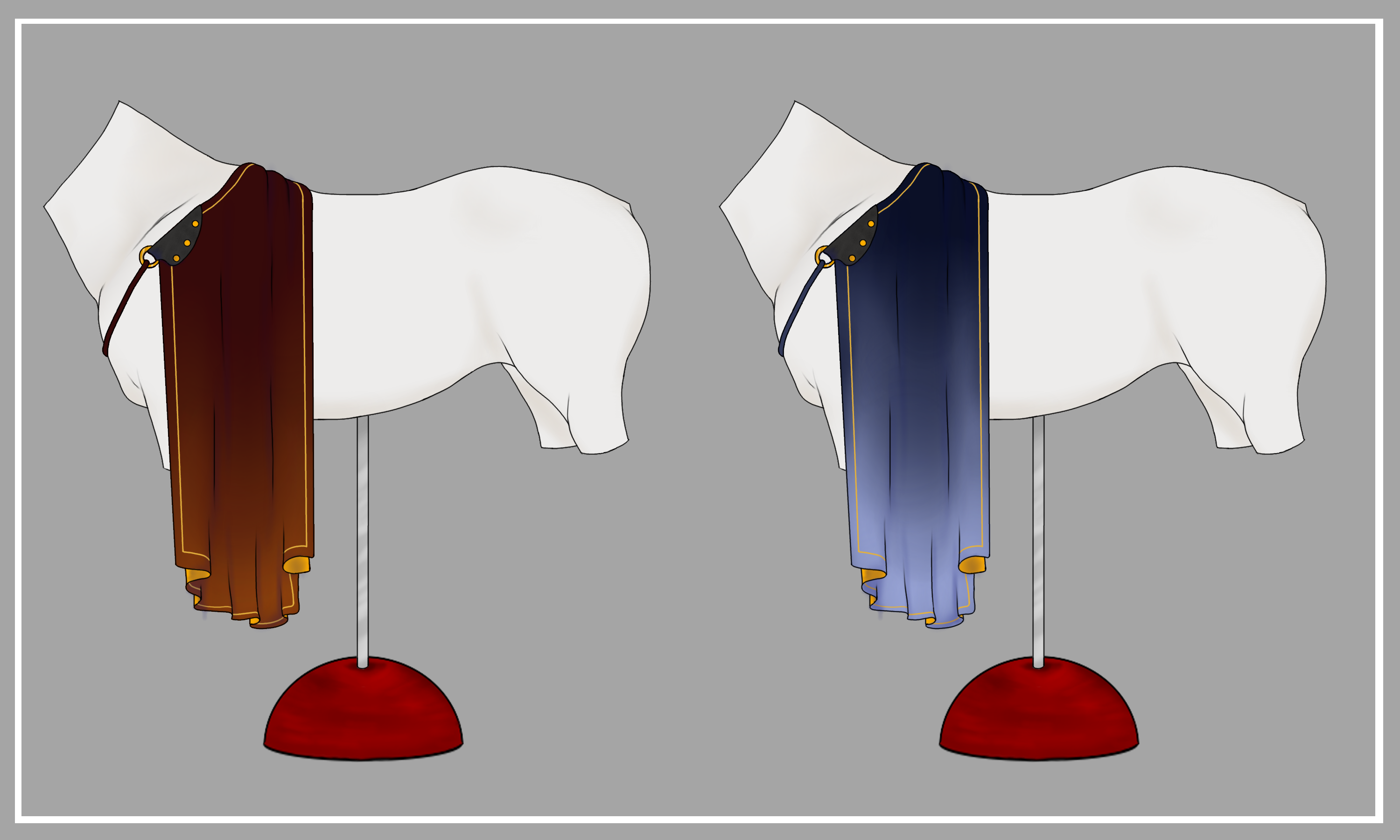 Equine Shoulder Capes | CLOSED by NorthernMyth