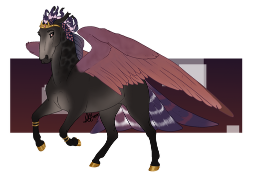 Princess in Purple [COMM]