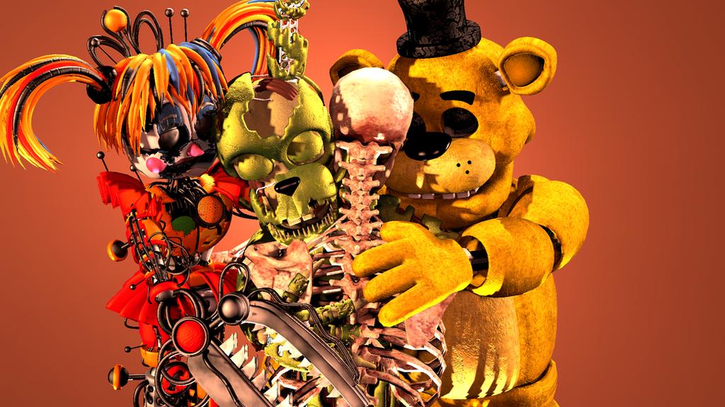 Family Hug by TotallyArealroBot