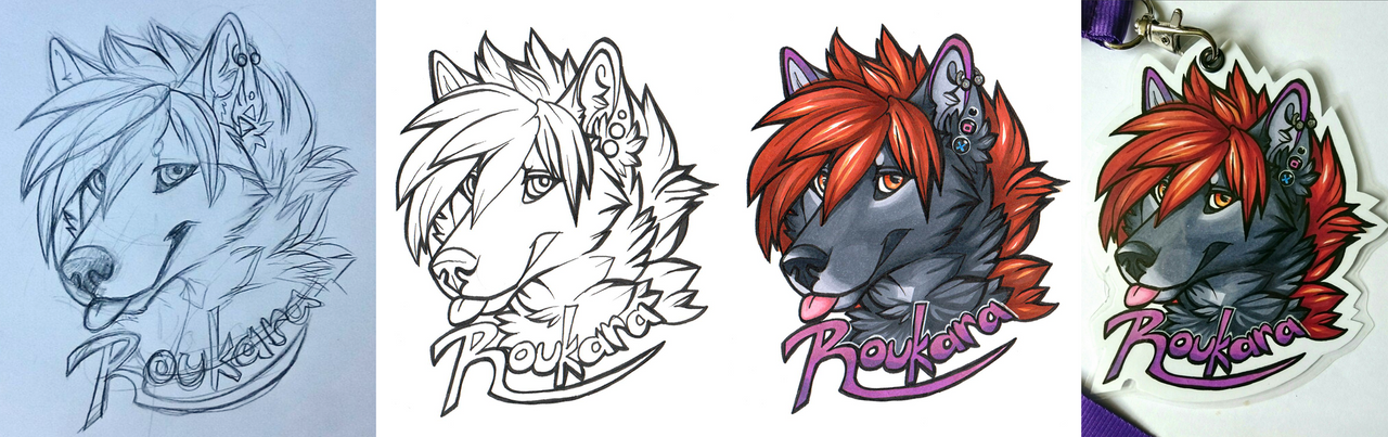 Badge: Rouka (2017) - Progress by Roukara