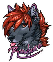 Badge: Rouka (2017) by Roukara