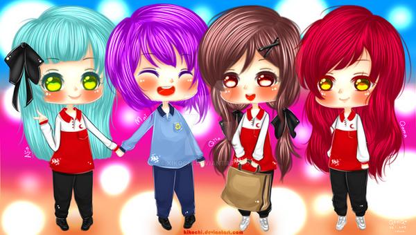 Chibi [ BG : My Best Friends and I ] by KikoChi on DeviantArt