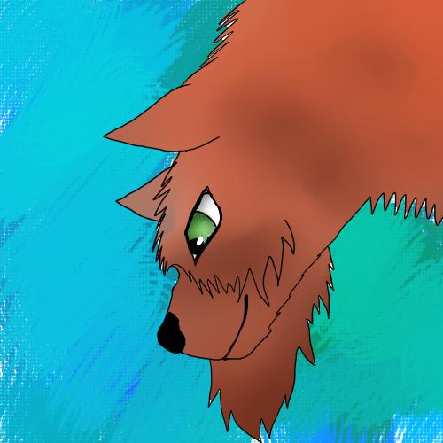 AntiHeroLydia as a Wolf by KaylaTheWolf13