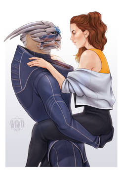 Garrus and Paige