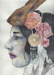 Rabbit by schlachthof
