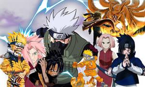 Naruto Team Kakashi background