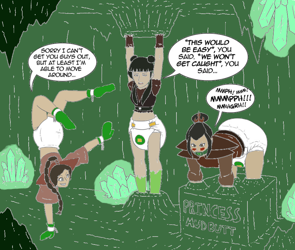 Azula's Down To Earth Royalty by Pokingaround