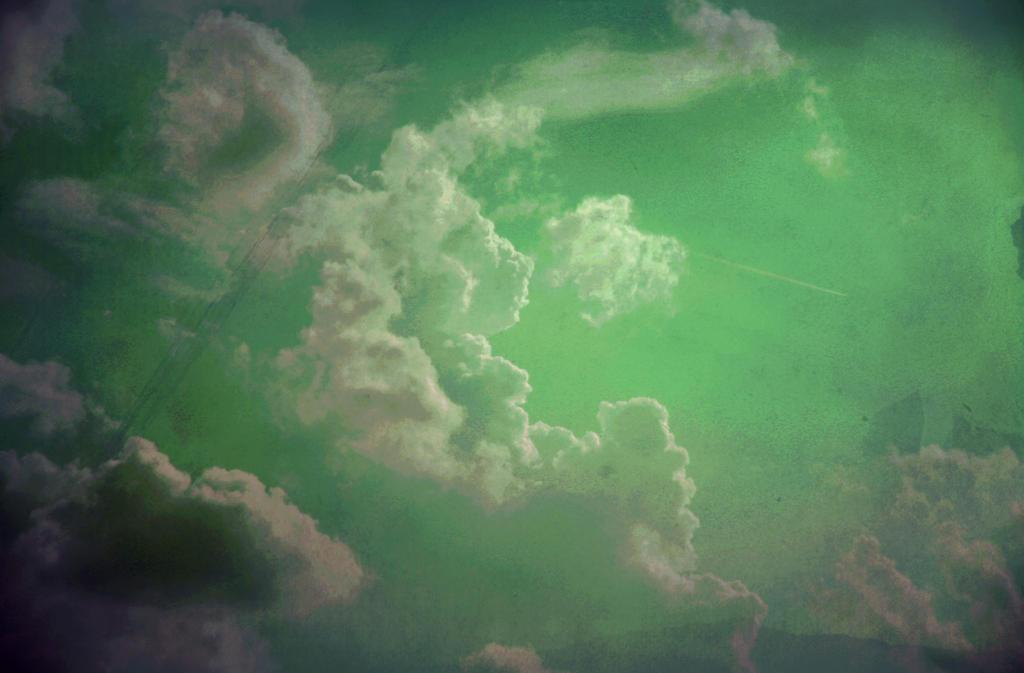 green-lit skies by VampireHeart518