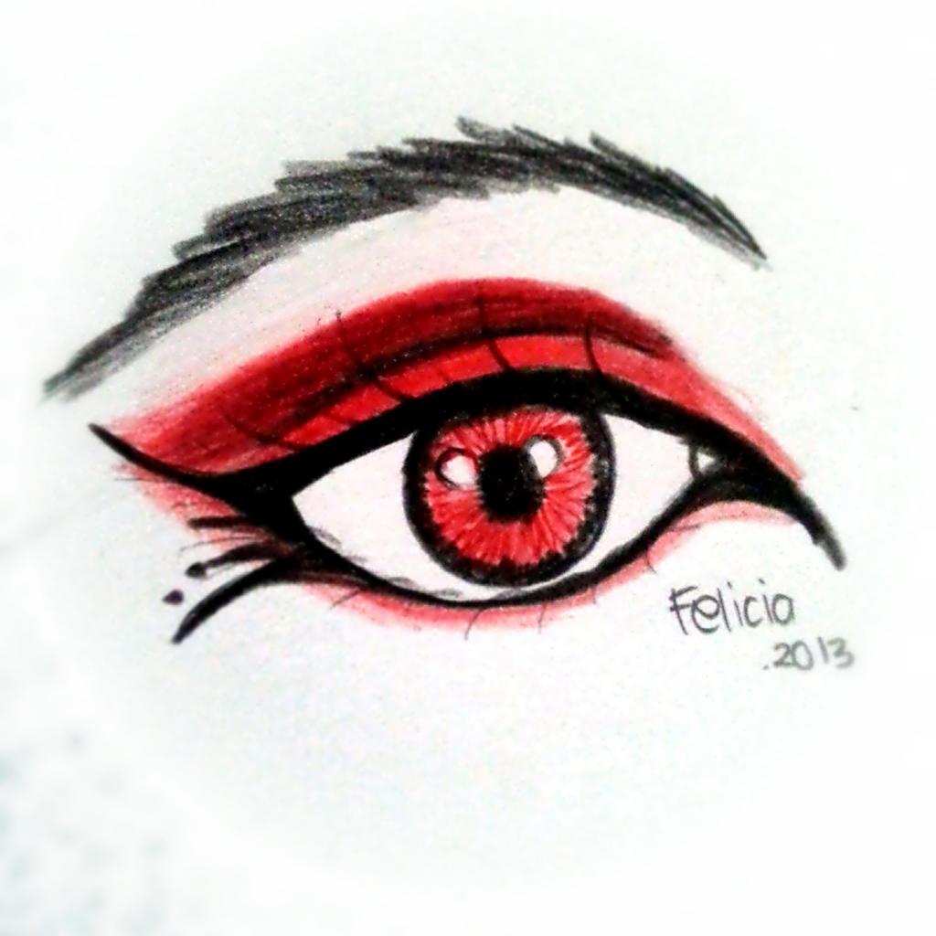 Vampire Anime Eyes Vampire eye mak...