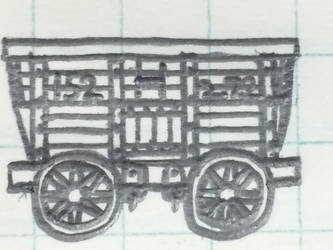 Chauldron wagon, Sector H, No.152, 2.7.2. by Trains333