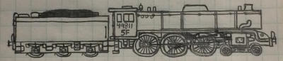 Riddle Standard 5F 4-6-0 by Trains333