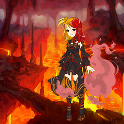 Magma Gust by WickedSorceressCia