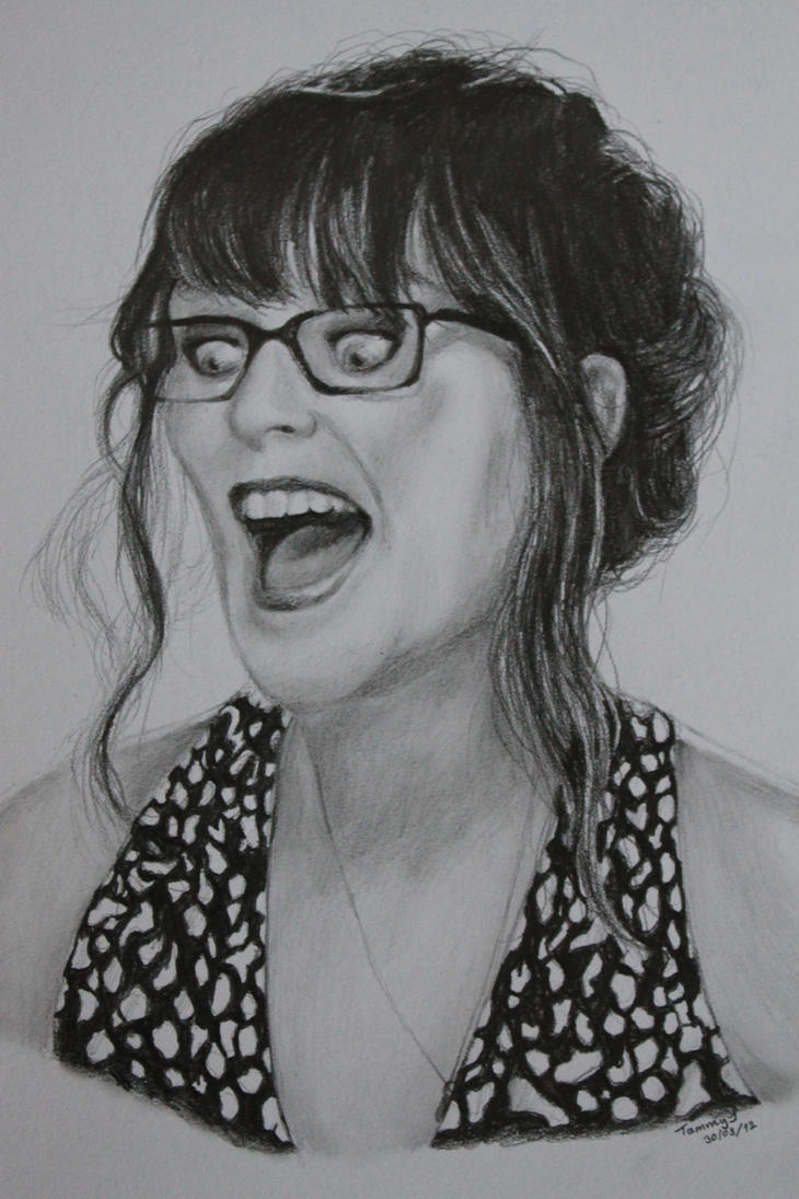 Zooey Deschanel by Tammy--J