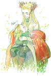 Thranduil and his green leaf