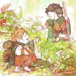 Lord of the rings- Frodo and Sam