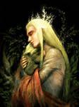 Thranduil and young Legolas