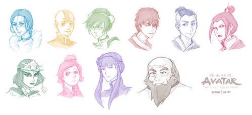 Avatar [Headshot Sketches] by chetom