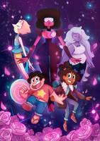 Steven Universe [Crystal Gems] by chetom