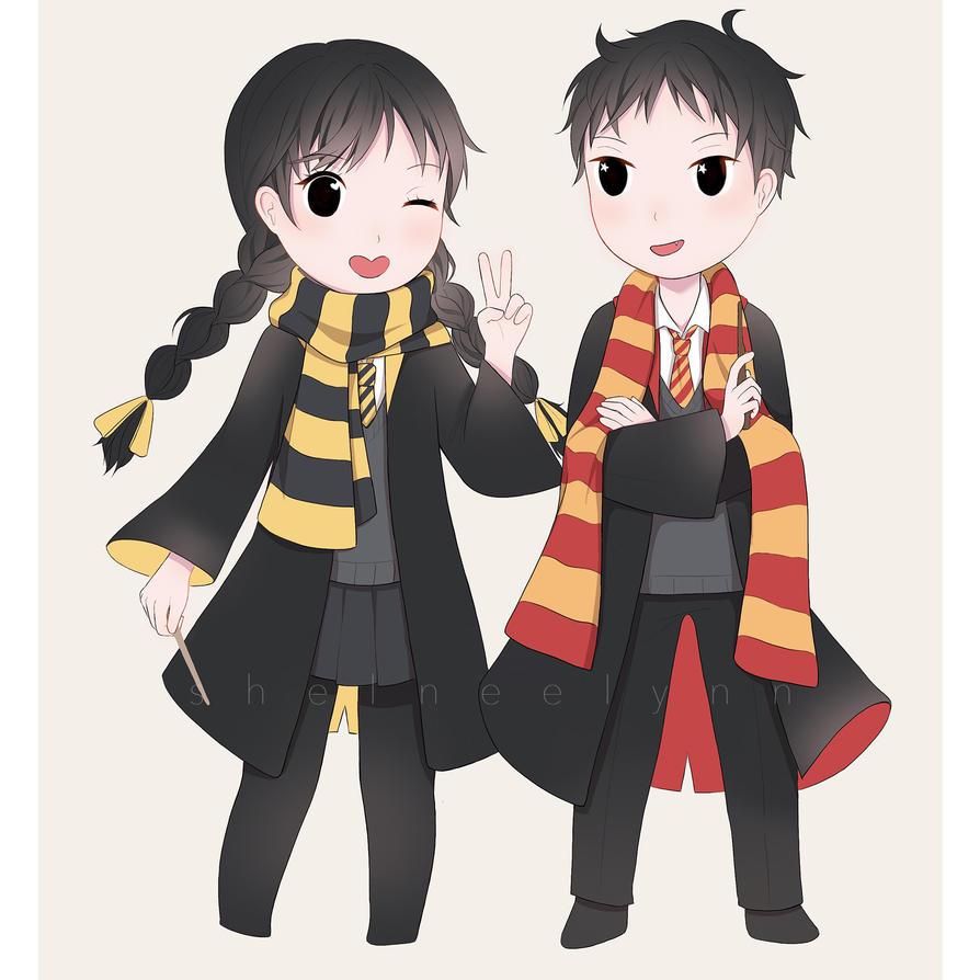 Our Hogwarts Houses!! by ShelneeLynn